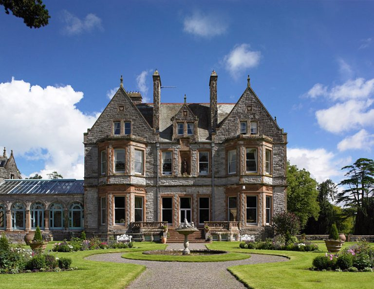 Замок Лесли (Castle Leslie Estate) в Ирландии