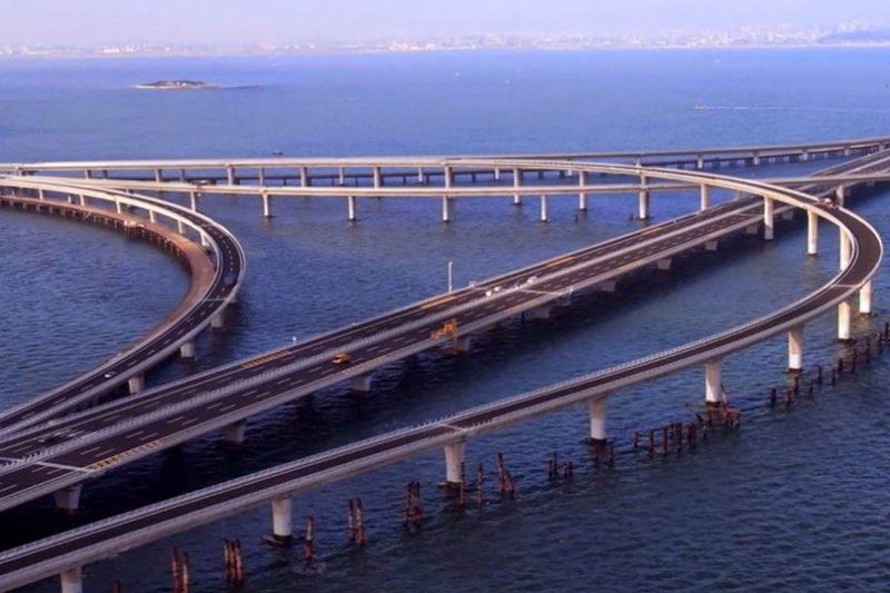 Циндаосский мост через залив
