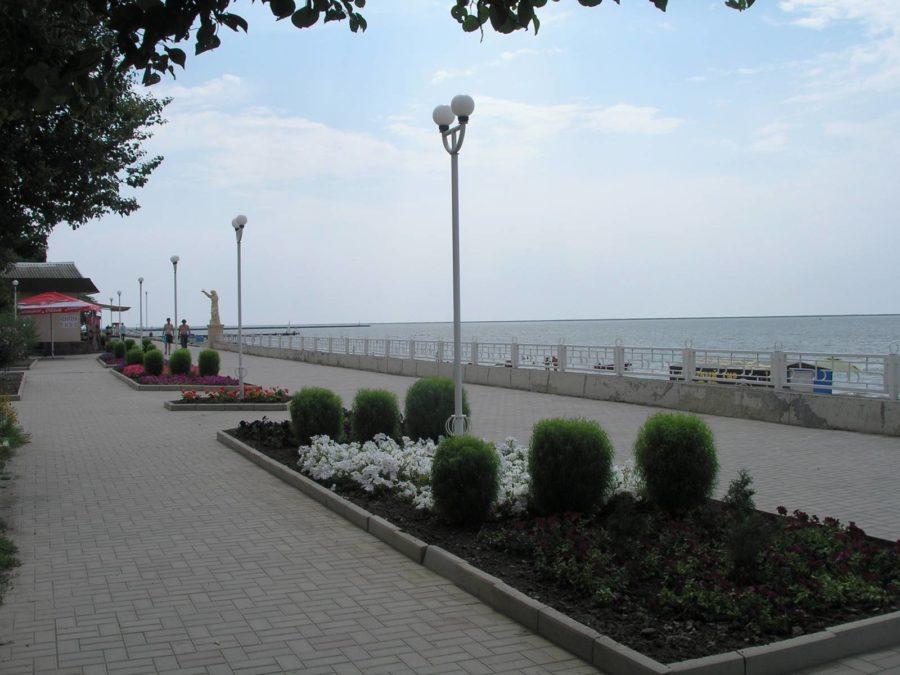 Приморско-Ахтарск, набережная