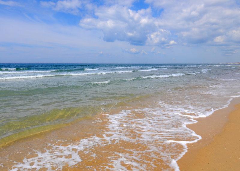 Анапа, пляж Джемете