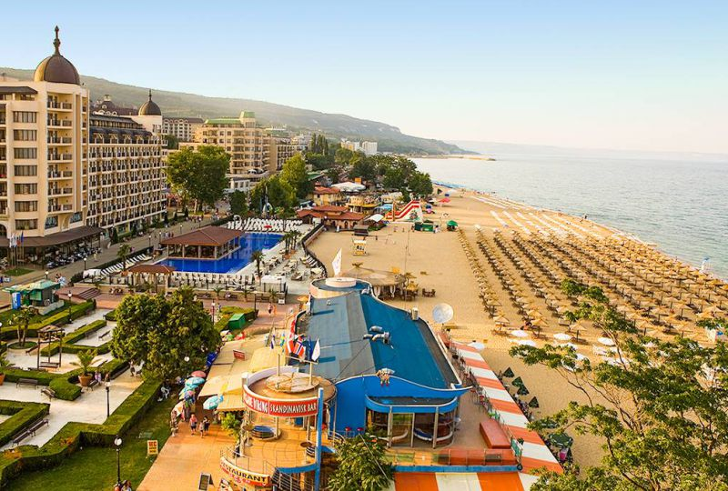 Золотые Пески- пляжный курорт Болгарии