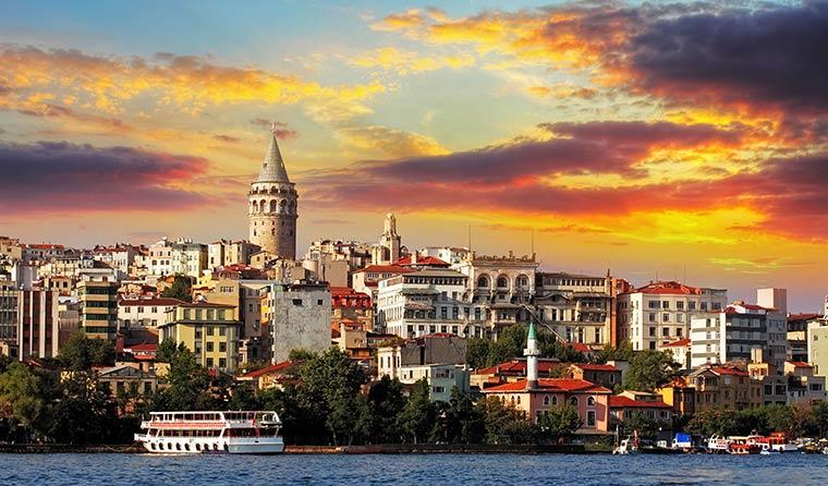 Красивые города Турции: Стамбул
