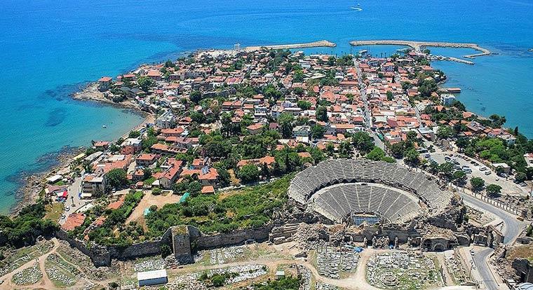 Красивые города Турции: Сиде