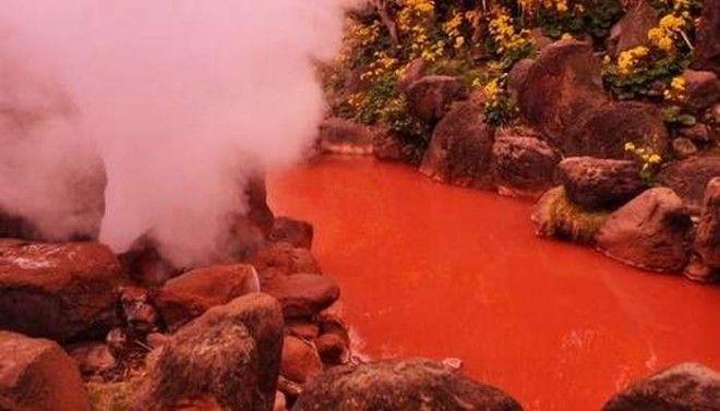 Горячий источник Кровавый пруд