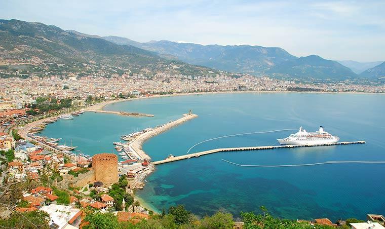 Красивые города Турции: Алания
