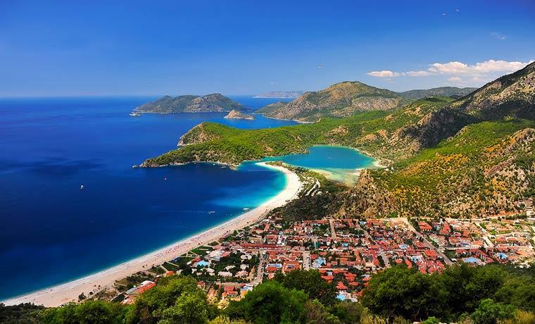 Красивые города Турции: Фетхие